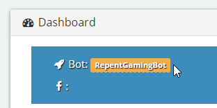 Bot Name With Orange Highlight